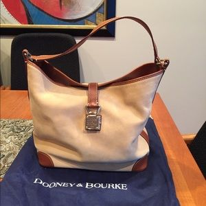 Dooney & Bourke Suede Hobo